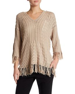 Cleo Fringe Sweater