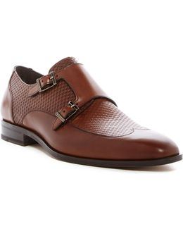 Double Monk Woven Loafer