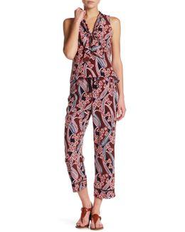 Berta Floral Silk Pant