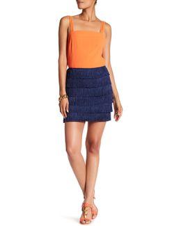 Zazzy Fringe Skirt