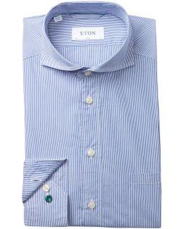 Fine Bengal Stripe Slim Fit Dress Shirt