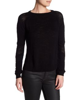 Lightweight Textured Pullover