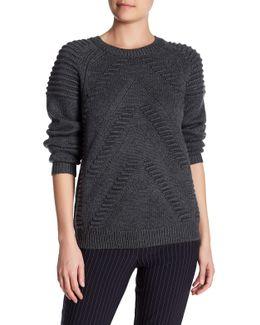 3d Stitch Wool Sweater