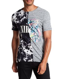 Nirvan Contrast Split T-shirt