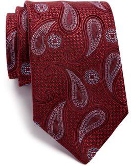 Ursa Paisley Silk Tie