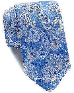 Sostanza Paisley Silk Tie