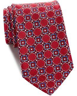 Sambore Neat Silk Tie