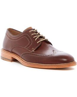 Campbell Wingtip Leather Derby