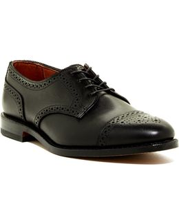 6th Ave Semi Brogue Derby - Extra Wide Width Available