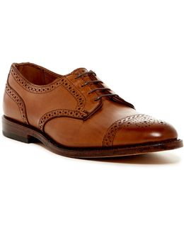 6th Avenue Semi Brogue Derby - Extra Wide Width Available