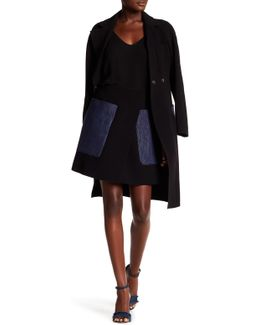 Amburgo Twill Pocket Wrap Skirt
