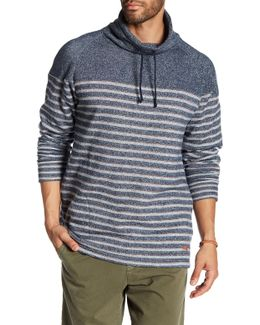 French Terry Funnel Neck Sweater