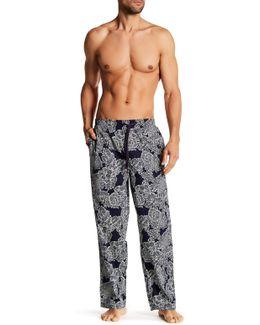 Royal Palm Drawstring Pants