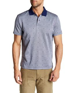 Oxford Print Polo