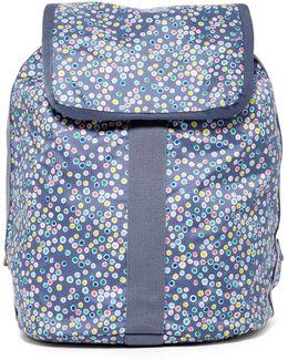 Nylon Shopper Backpack