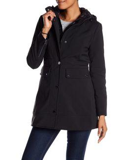 Soft Shell Hooded Coat