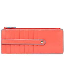 Audrey Leather Credit Card Case