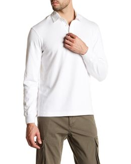 Rugby Long Sleeve Polo Shirt