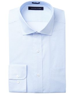 Dotted Slim Fit Dress Shirt