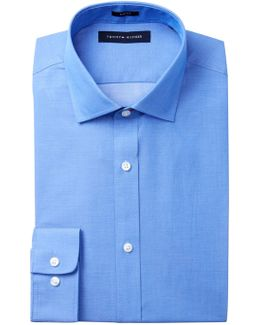 Pin Dot Slim Fit Dress Shirt