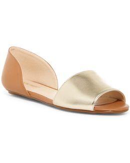 Broken Open Toe D'orsay Sandal