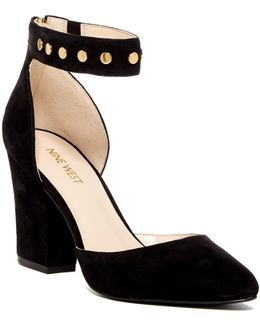 Sharmain Ankle Strap Pump