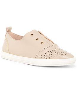 Shelomo Perforated Slip-on Sneaker