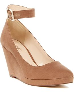 Lucy Lou Wedge Pump