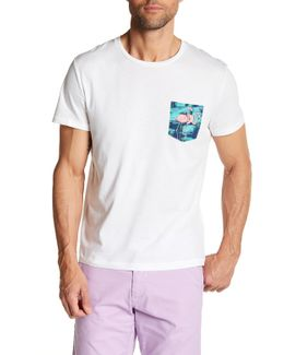 Flamingo Pocket Tee