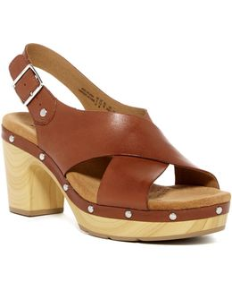 Ledella Club Platform Sandal