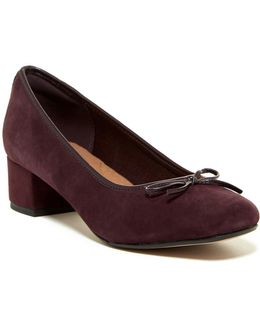Chartli Daisy Suede Pump - Wide Width Available