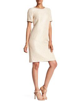 Embellished Trim Sequin Dress