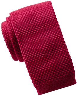 Knit Solid Tie