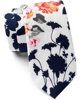 Moko Floral Tie