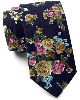 Millard Floral Tie
