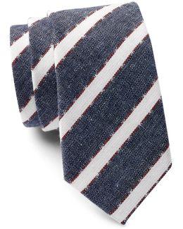 Foxcroft Stripe Tie