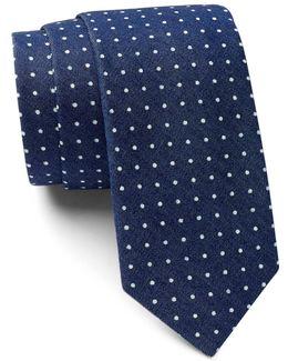 Gypsum Dot Tie