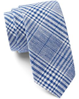 Placido Plaid Tie