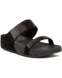 Flare Slide Sandal