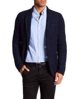 Two Button Notch Collar Jacket