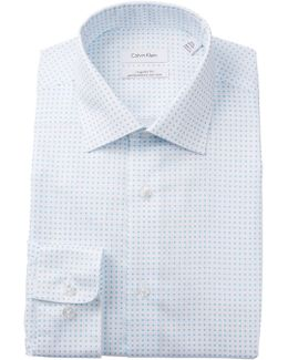 Geo Print Regualr Fit Dress Shirt