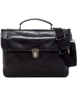 Stanton Top Handle Leather Bag