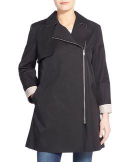 Moto Swing Coat
