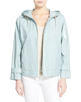 Sporty Hooded Jacket
