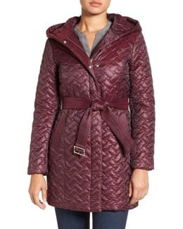 'thermore' Water Repellent Quilted Coat