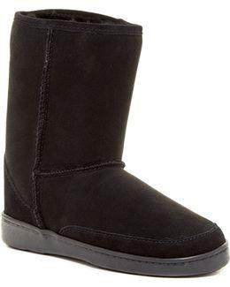 Short Genuine Sheepskin Pug Boot (women)