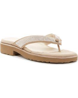 Tara Platform Thong Sandal