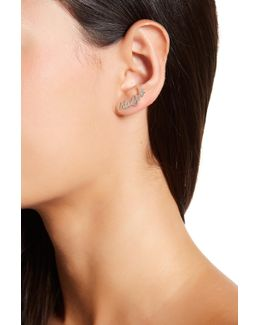 New York Ear Crawler Earring