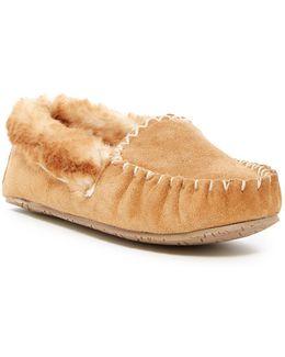 Sofie Slip-on Ii Faux Fur Lined Moc Slipper