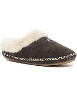 Carolina Faux Fur Lined Clog Slipper